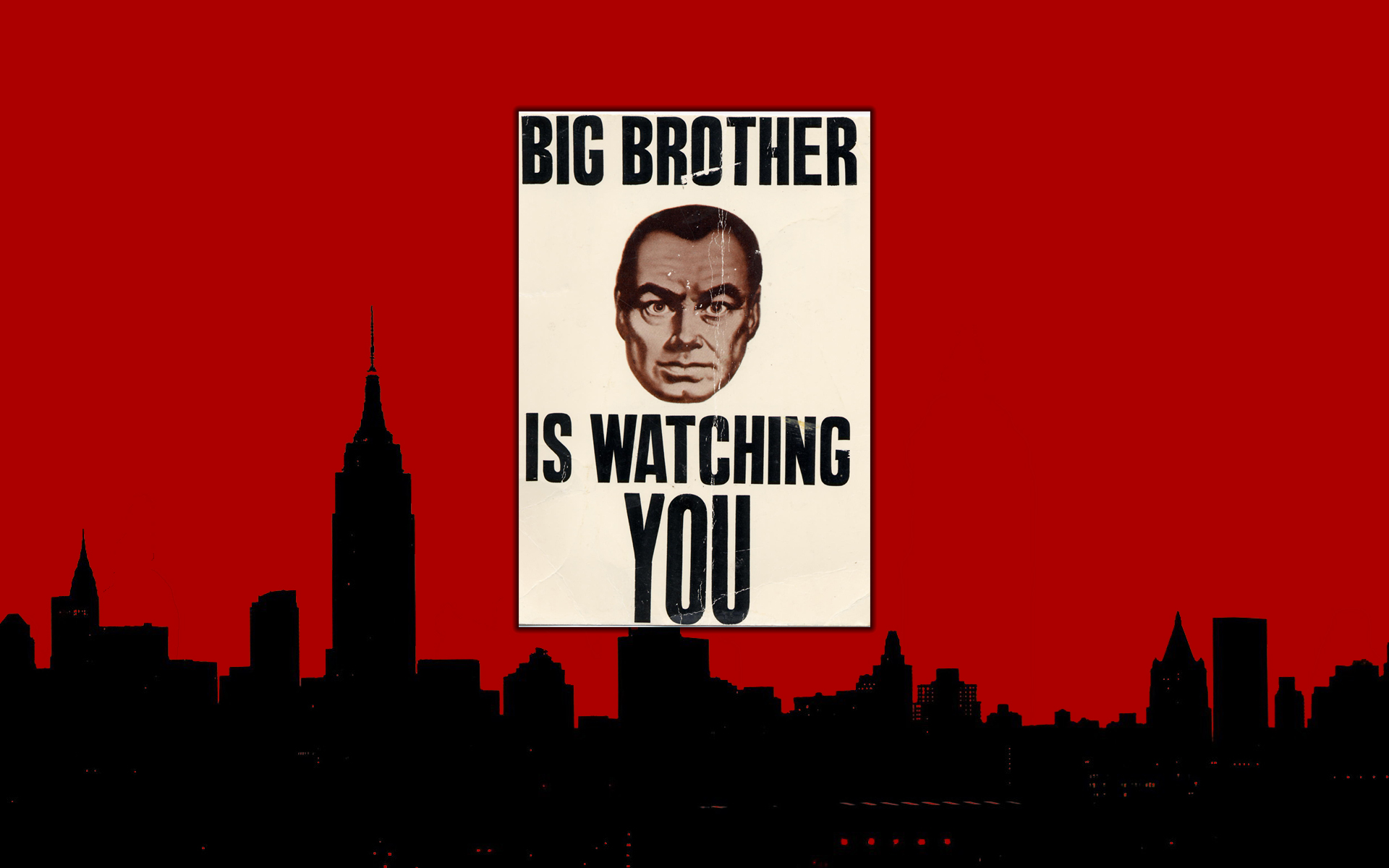 big brother watching you 1984 george orwell Martin Semmelrogge