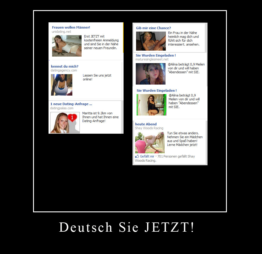 facbook werbung fail deutsch - bullsh!ft - oh my god it's ...