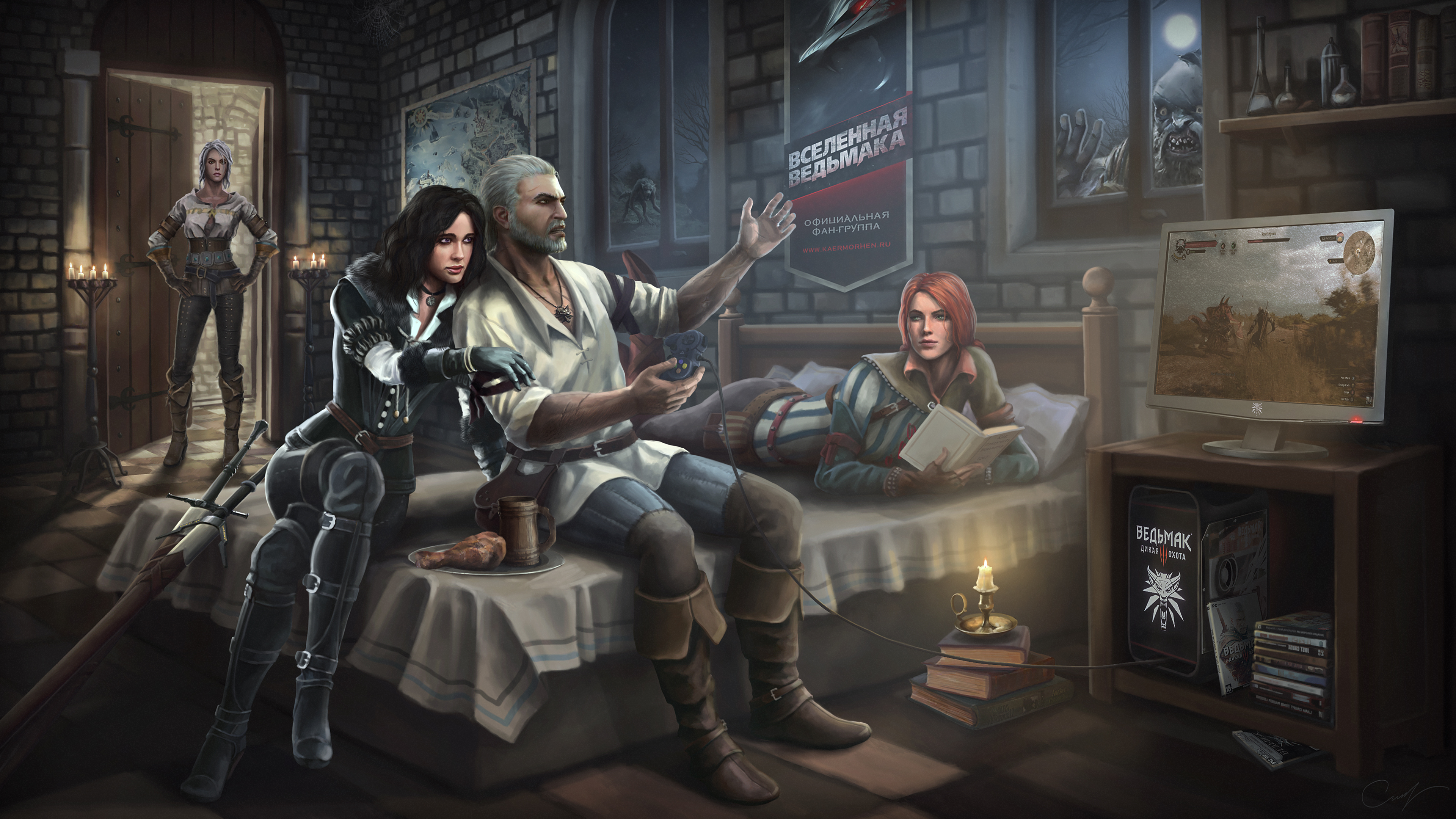 Игра The Witcher 3 Wild Hunt Hearts Of Stone