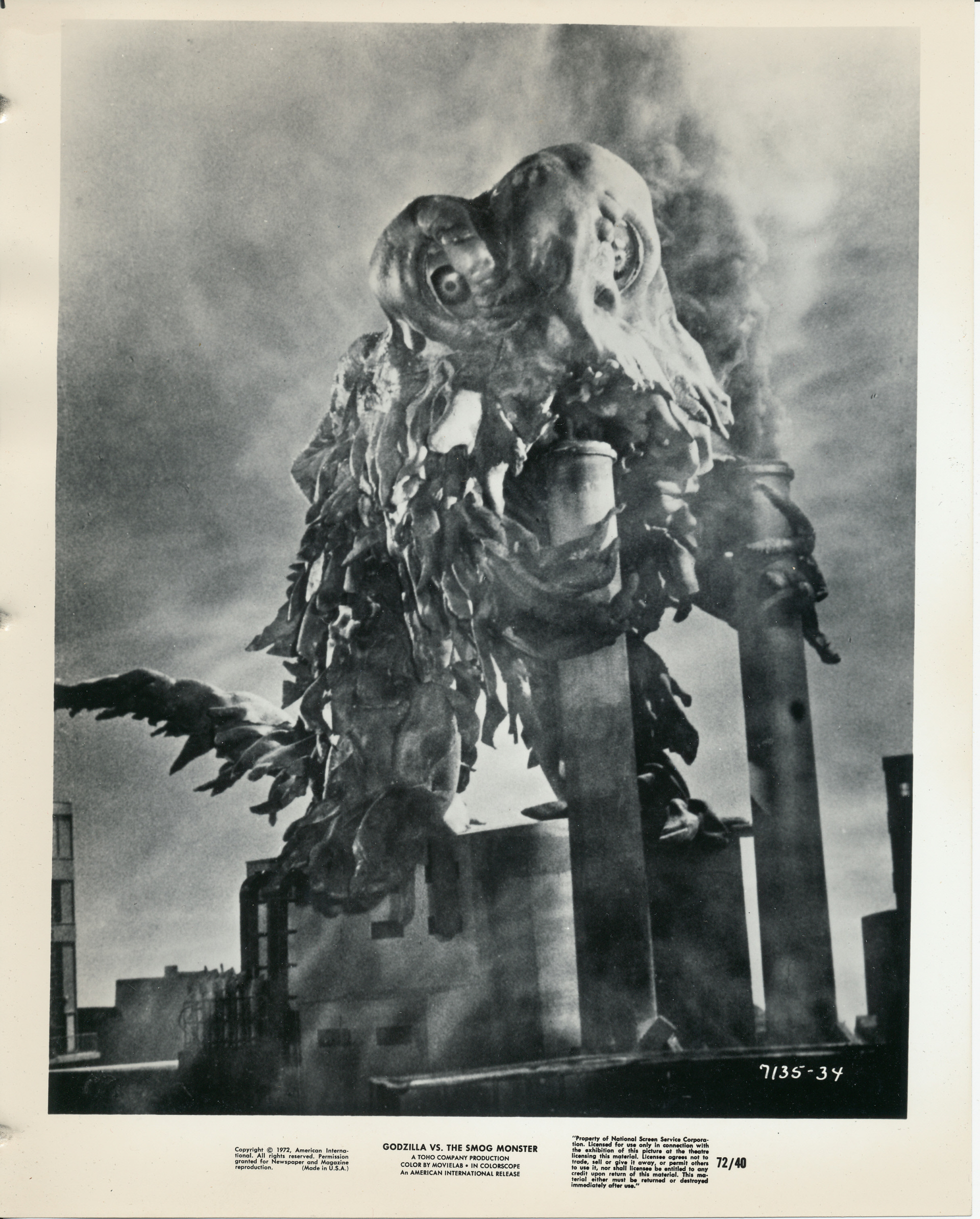 godzilla-vs-the-smog-monster 1971 film 	FSK 12 ゴジラ対ヘドラ Hedorah #pollution #climate catastrophe