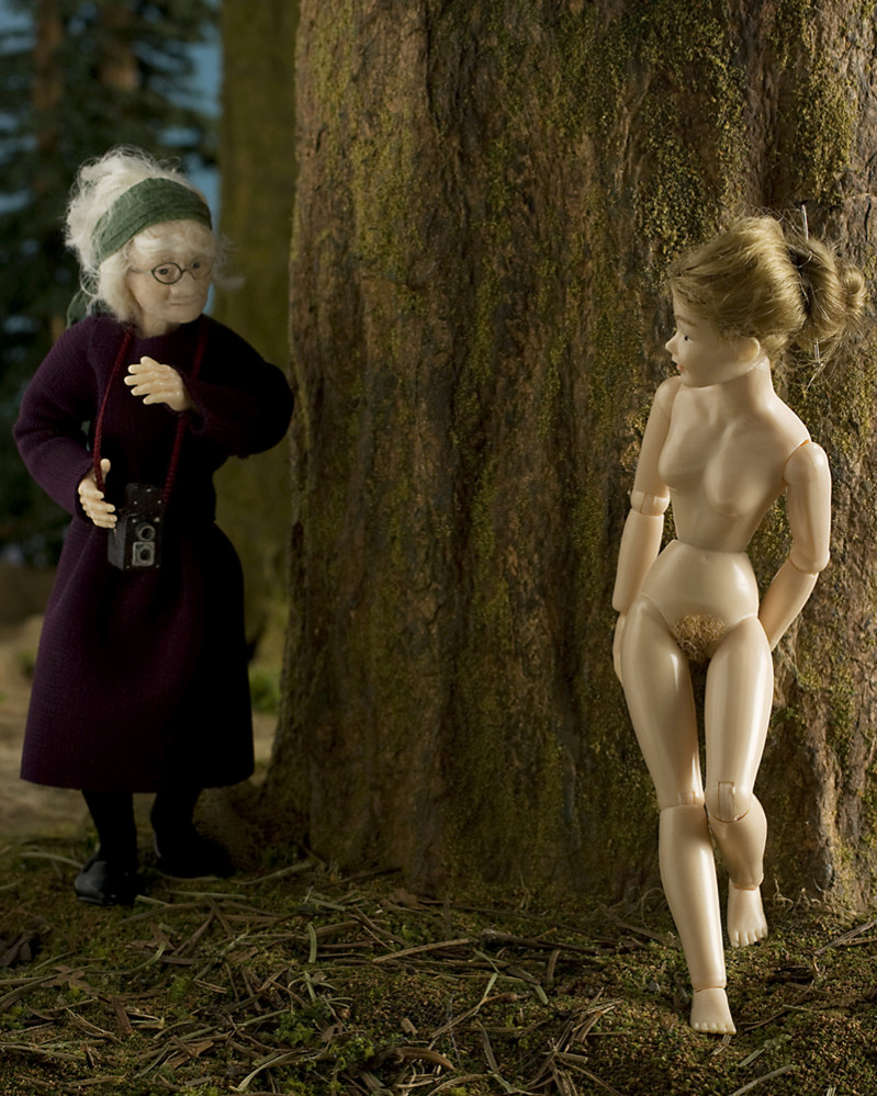doll grace weston art photography #judy dater
